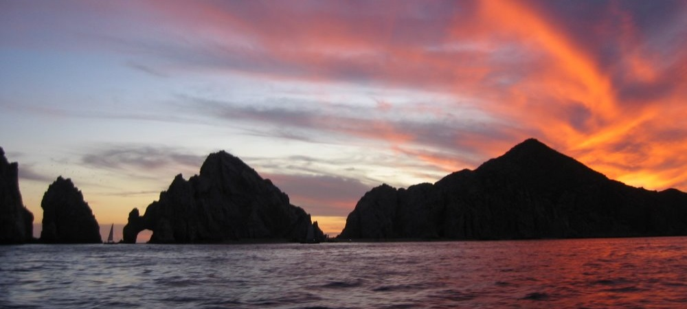 Sunset in Cabo San Lucas Arch